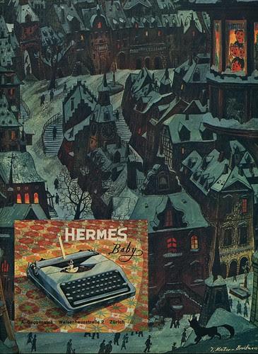 Du 1945-12 Weihnachten Hermes Baby
