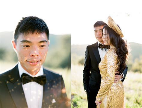 Traditional Vietnamese Bride and Groom   Once Wed