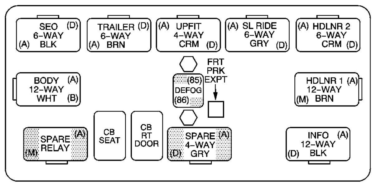 Chevrolet Suburban 2005 Fuse Box Diagram Auto Genius