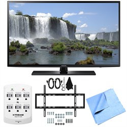 Samsung UN40J6200 - 40-Inch Full HD 1080p 120hz Smart LED HDTV Mount & Hook-Up Bundle
