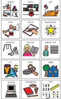 Kindergarten Daily Schedule Cards - Bing Images--boardmaker ...