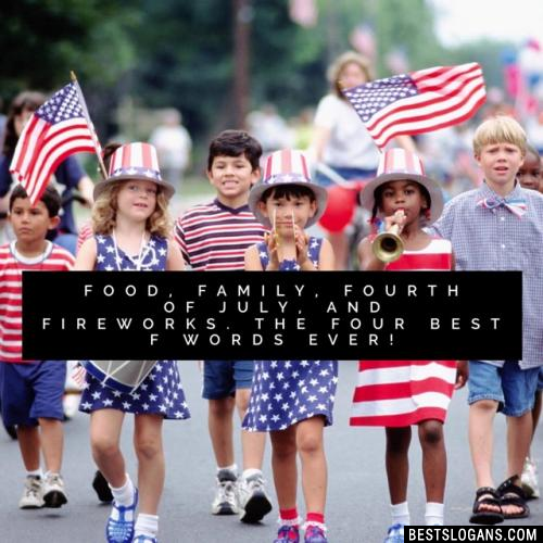 Catchy 4th Of July Slogans Taglines Mottos Business Names Ideas