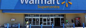 Walmart Front Entrance