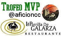 Trofeo MVP @aficioncc La Parrilla de Galarza