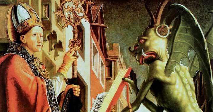Saint Wolfgang et le diable, 1483