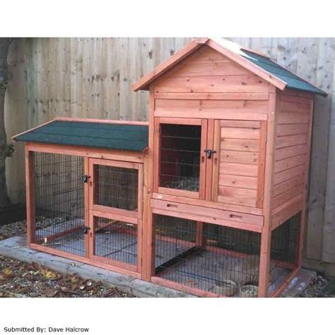 Trixie Natura Apex Rabbit Hutch and Large Run on Sale   Free UK Delivery