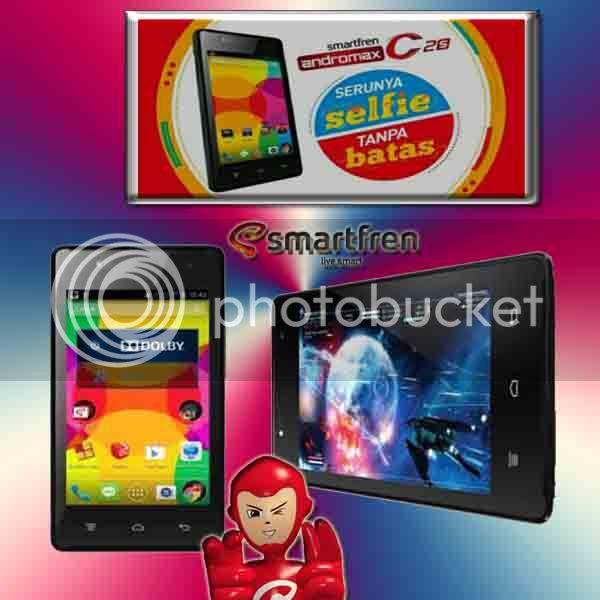 Smartfren Andromax C2S Ponsel CDMA- GSM Dengan Fiture Wide Angle