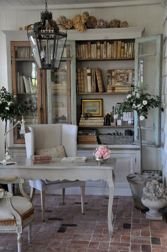 15 iFrenchi Country Home Office DAcor iIdeasi Shelterness