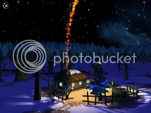 Magic House on Christmas Night...