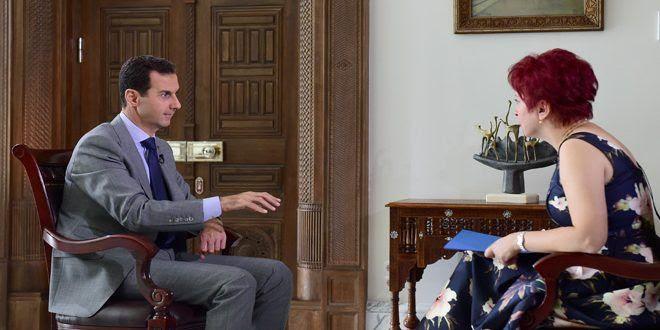 Assad: Tra ISIS e Israele non c'è nessuna contraddizione