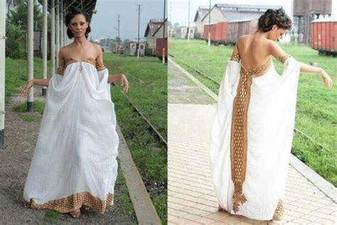 Habesha Modern Wedding Church Dress   ?HABESHA?~Eritrean