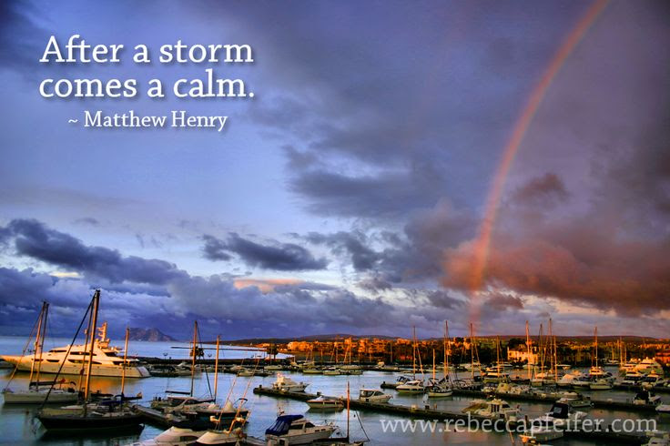 Comes The Calm After The Storm Quotes