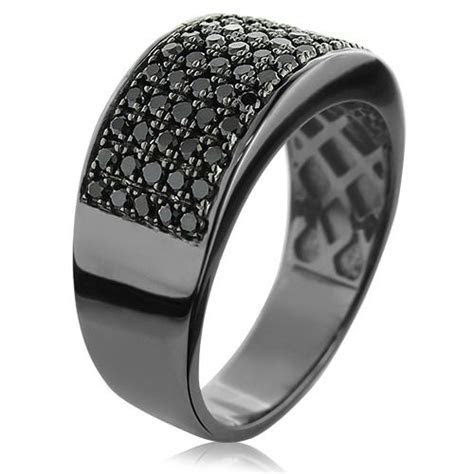 78  images about Mens black diamonds wedding bands on