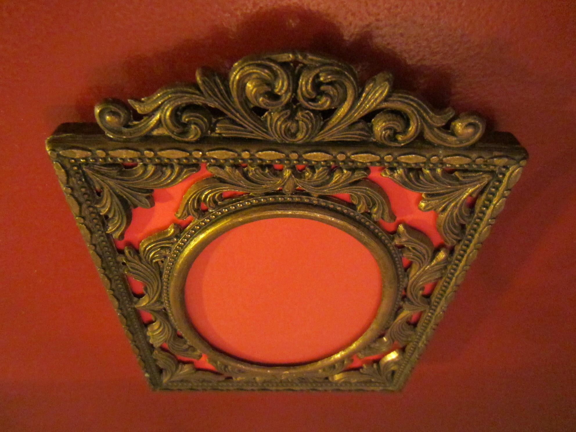 Italian Art Deco Brass Picture Frame For Sale Antiquescom