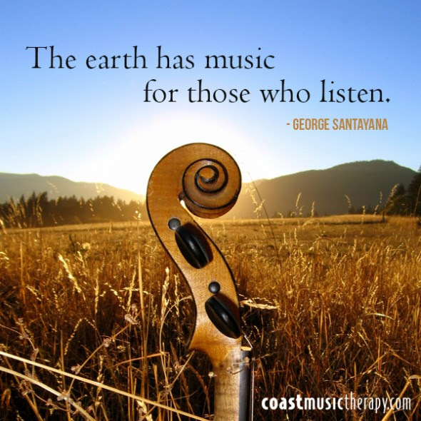Music Speaks Five Positive Music Quotes Coast Music Therapy