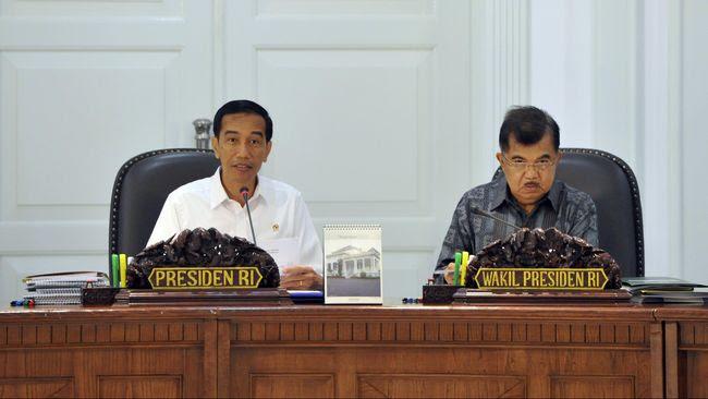 Gelar Rapat Terbatas, Jokowi Bahas Stabilitas Rupiah
