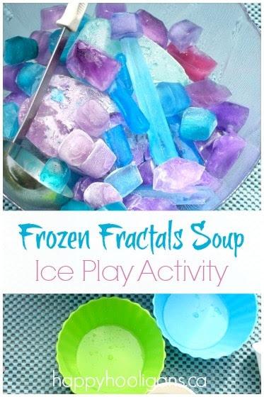 Frozen Fractals Soup from Happy Hooligans