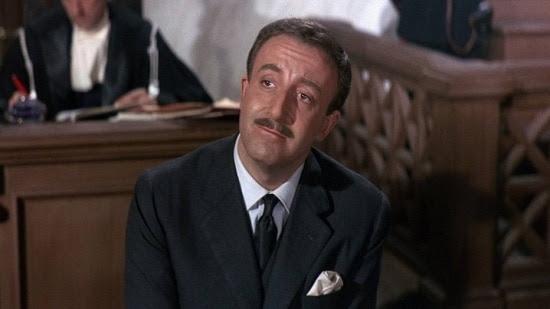 Peter Sellers em cena de 'A Pantera Cor de Rosa', de 1963 (foto: Divulgação)