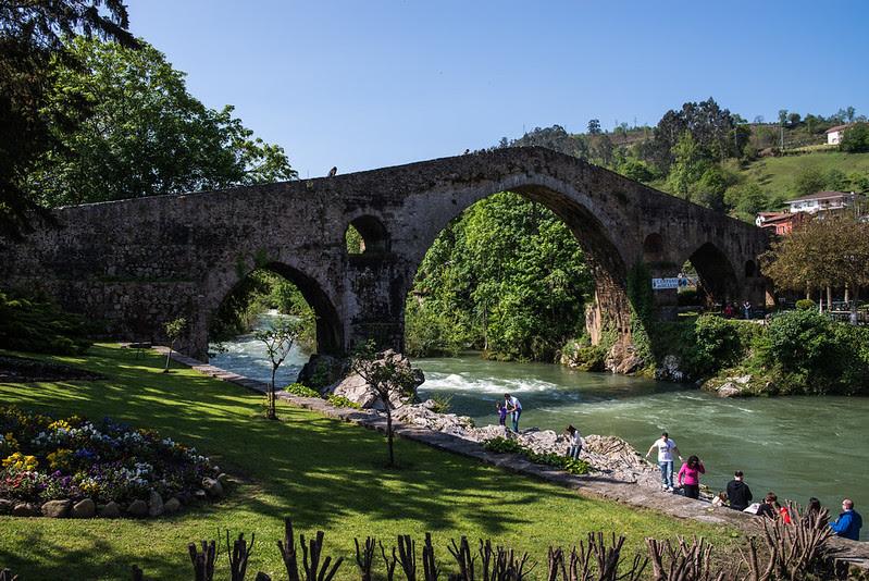 Puente romano en Cangas de Onís