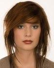 Winter 2007 medium length hairstyle