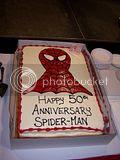 2012 Toronto Fan Fest - Spidey birthday cake