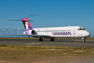 Hawaiian Airlines Boeing 717-22A N475HA (msn 55121) HNL (Ivan K. Nishimura). Image: 908605.