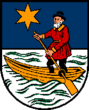Coat of arms of St. Wolfgang im Salzkammergut