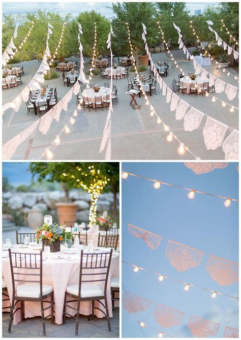 Las Vegas Wedding Planner, bistro lights, Springs Preserve