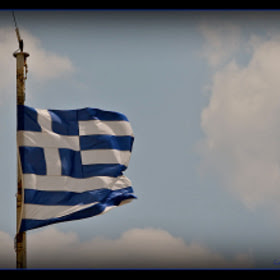Greek Flag of Parthenon by Konstantinos Tsagalidis (Vito73) on 500px.com