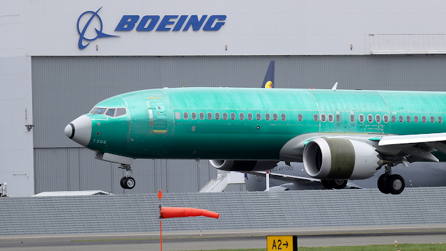 Boeing 737 MAX takes off on first certification test flight