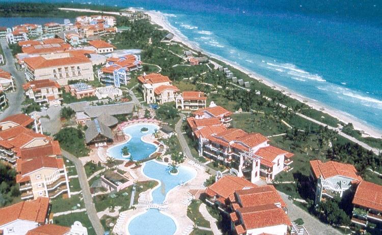 Carte De Cayo Coco Avec Les Hotels