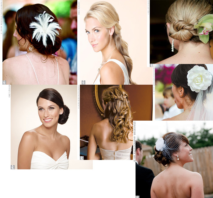 Pretty wedding hairstyles for fall. We love these hairstyles for fall