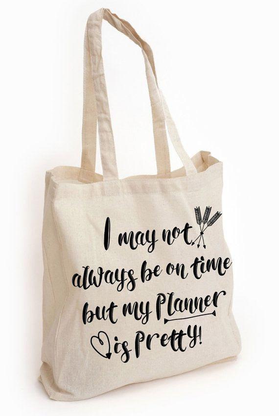 Planner Tote Bag, Planner Junkie, Planner Accessories, Planners ...