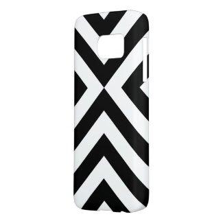 Bold Black and White Chevrons Case