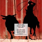 Rancher Roping Silhouette Yard Art Woodworking Pattern - fee plans from WoodworkersWorkshop® Online Store - cowboys,rodeo,steer tripping,ranchers,cowhands,cattleman,yard art,painting wood crafts,drawings,plywood,plywoodworking plans,woodworkers projects,workshop blueprints