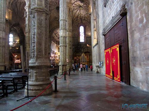 Lisboa - Igreja Mosteiro dos Jerónimos (3) Pilares [en] Lisbon - Jeronimos Monastery Church - Pillars
