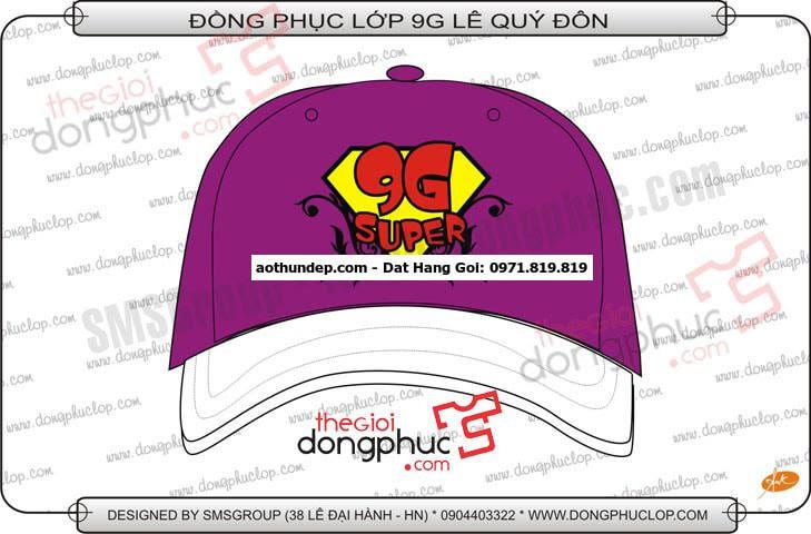 thiết kế nón nhóm