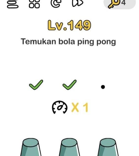 Kunci Jawaban Brain Out Temukan Bola Pingpong