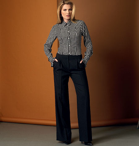 Vogue Patterns Misses' Pants 9032