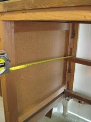 Measuring for the shelf