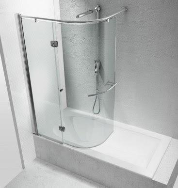 Ideale Mezza Vasca Da Bagno Con Doccia 14