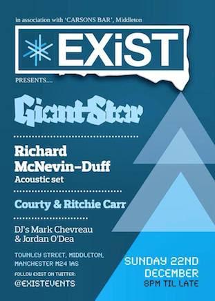 Giant Star live at Carson's Bar, Middleton 22 December 2013