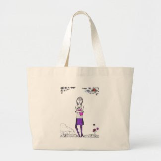 Creepy walk canvas bags