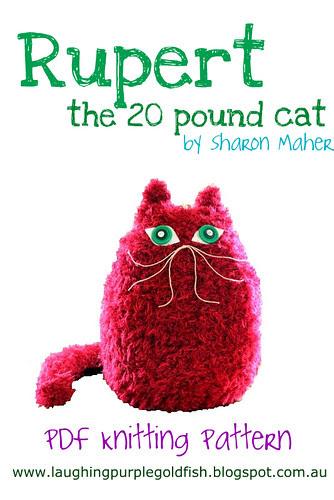 Rupert the 20 Pound Cat