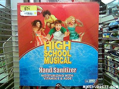 High School Musical Hand Sanitizer