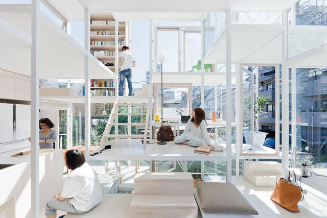 NA House Tokyo Transparent Glass House in Tokyo