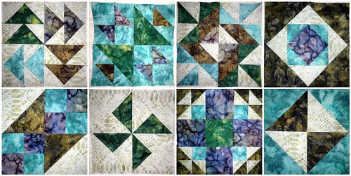 First 8 blocks of the FabricFascination BOM