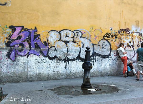 Graffiti, Venice, Italy
