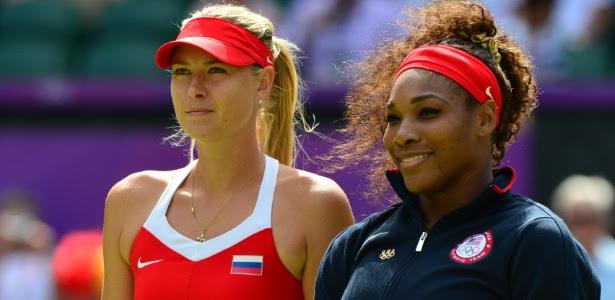 Maria Sharapova e Serena Williams se enfrentarão mais uma vez na final de Miami