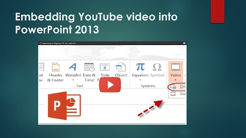 How To Put A Youtube Video In Powerpoint
